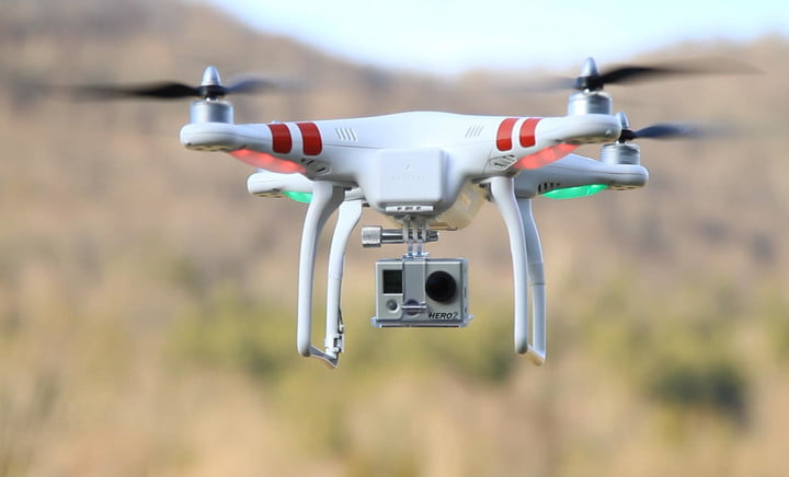 gopro developing consumer drones for 2015 launch report says dji phantom with hero hd2