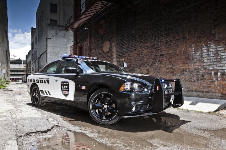 if you see the charger pursuit in your mirror dont run its fastest police car america dodge