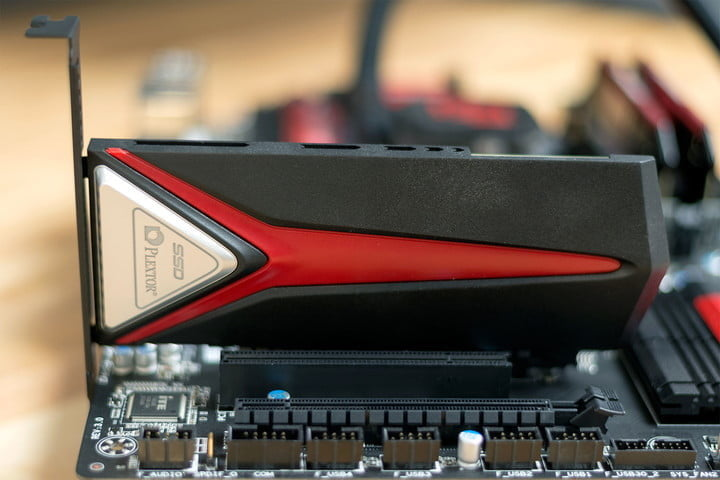 A component plugged into a PCIe slot | Does PCIe matter?