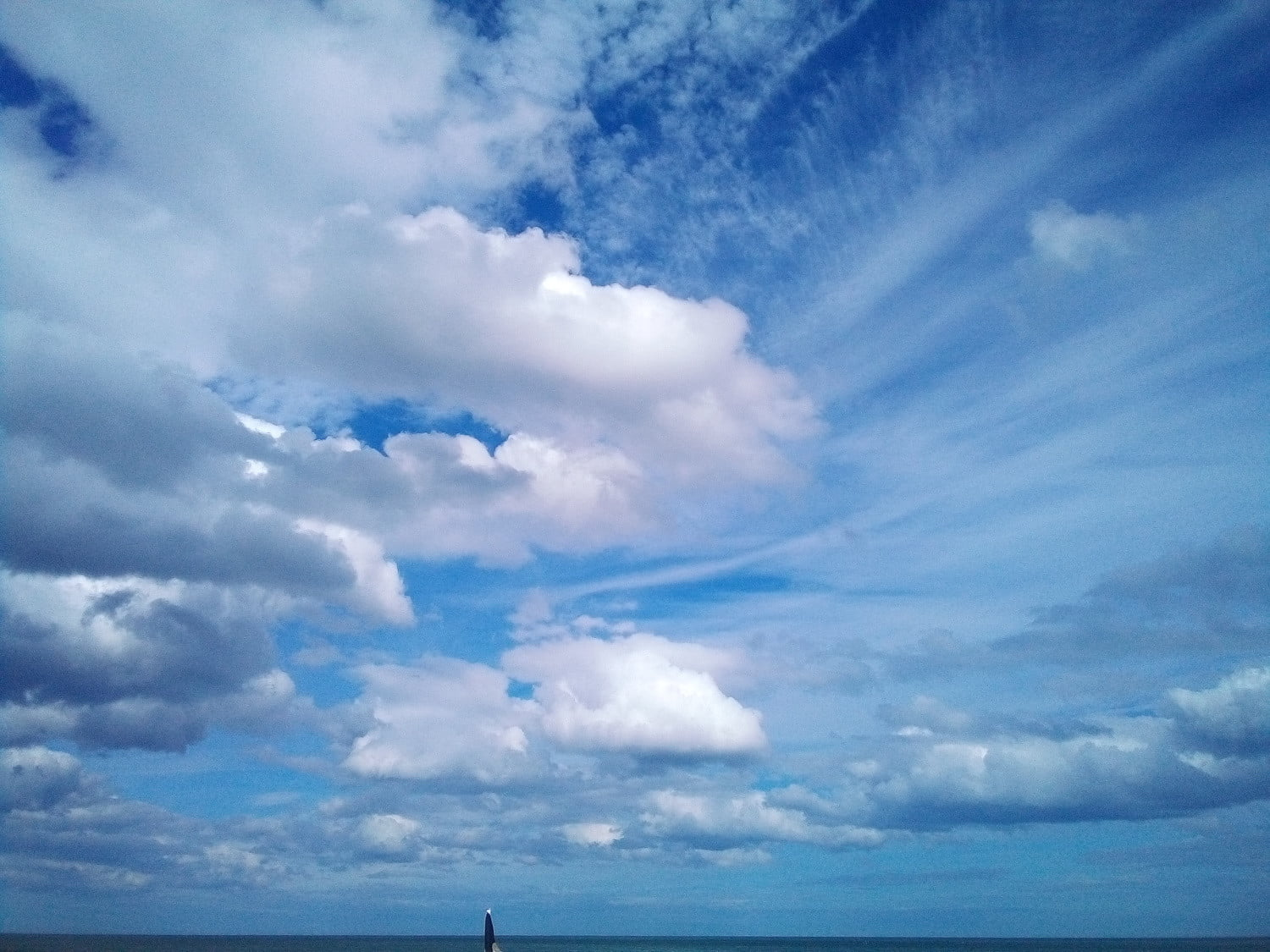 doogee s40 review camera sample sea clouds