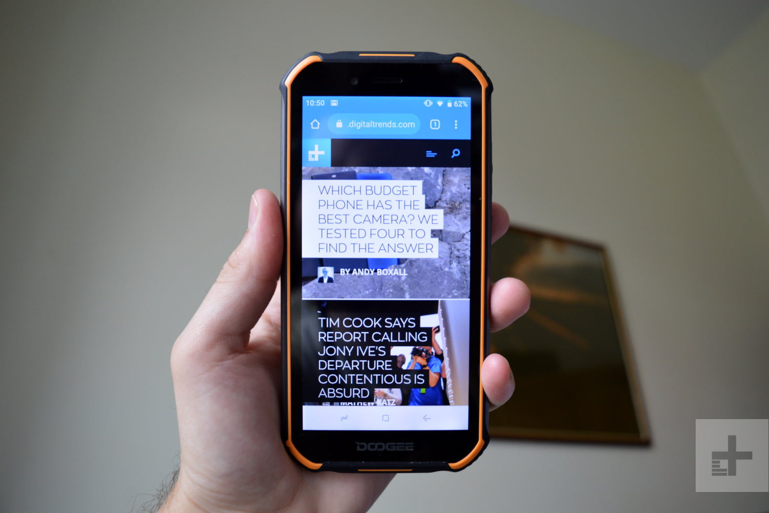 doogee s40 review front on