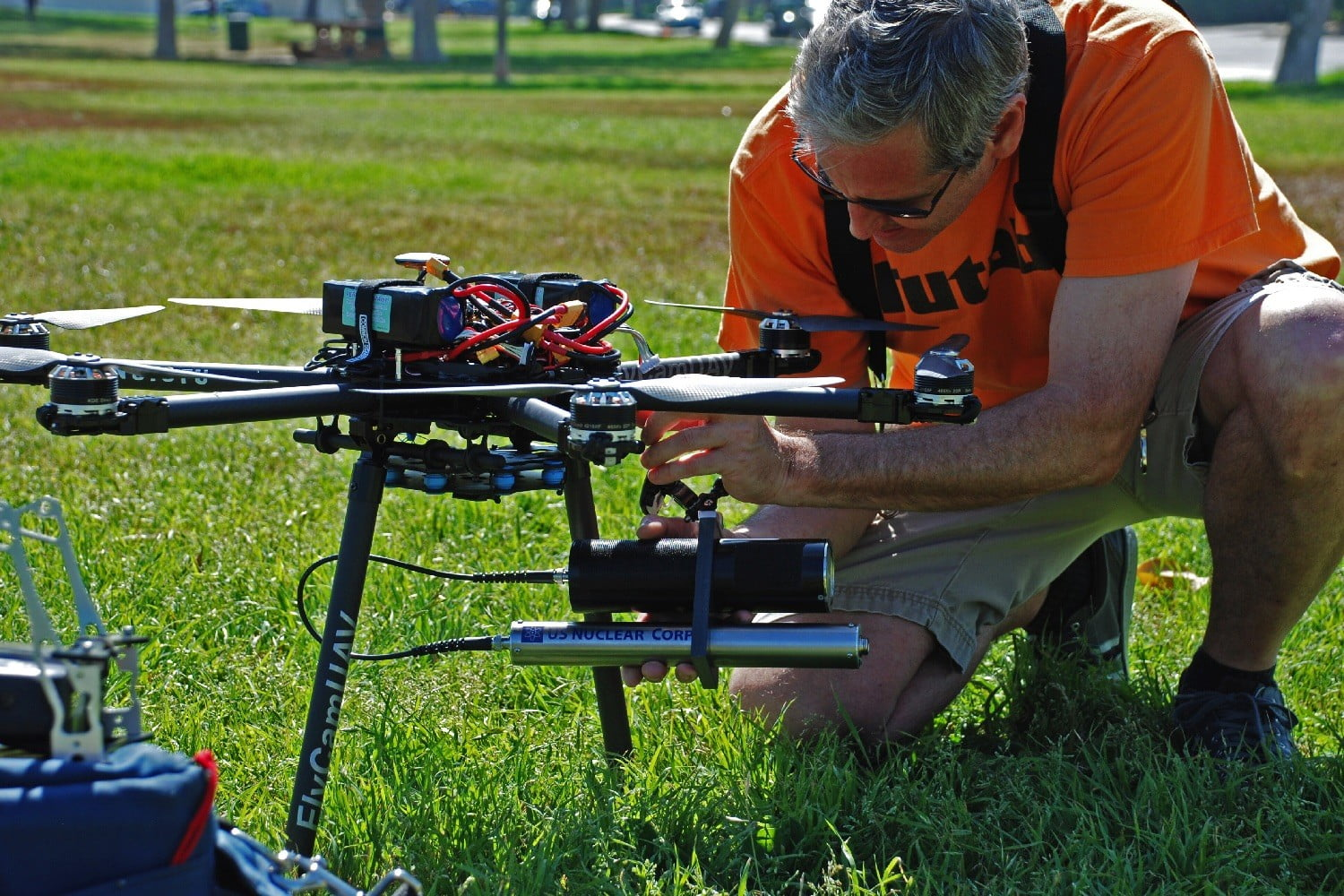 radiation and gas detecting drones drone1