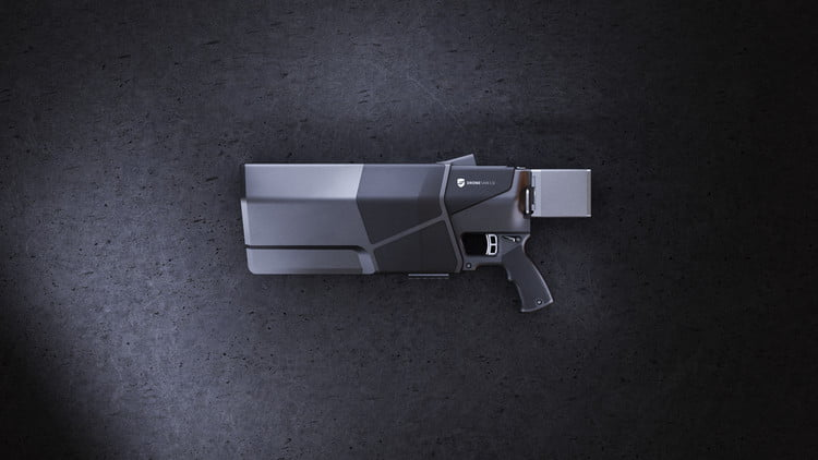 this compact drone gun can down a rogue quadcopter at 500 meters dronegun mkiii  1