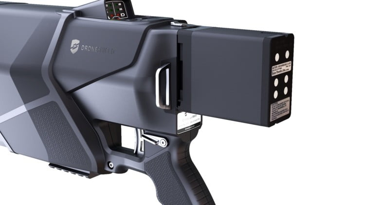 this compact drone gun can down a rogue quadcopter at 500 meters dronegun mkiii  3