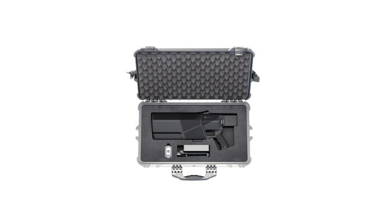 this compact drone gun can down a rogue quadcopter at 500 meters dronegun mkiii  5
