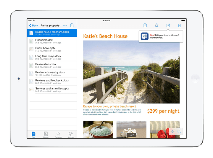 dropbox partners with microsoft for closer integration its cloud office apps