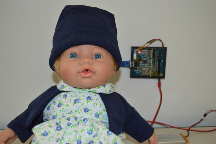 computer vision artificially intelligent doll