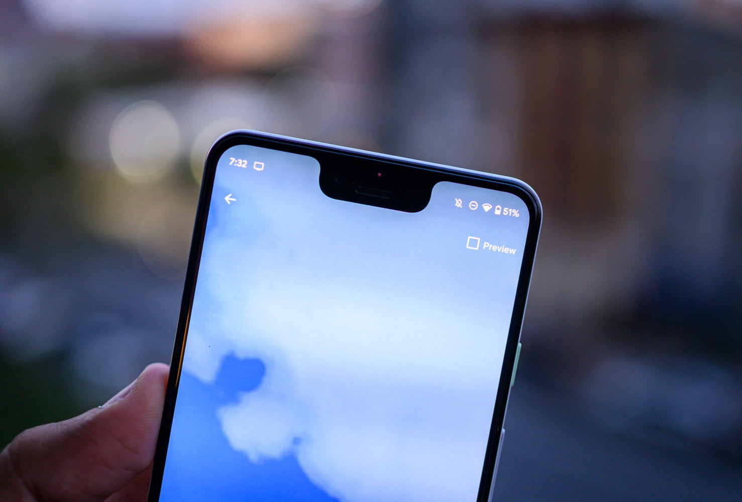 Android 10 Wallpaper preview