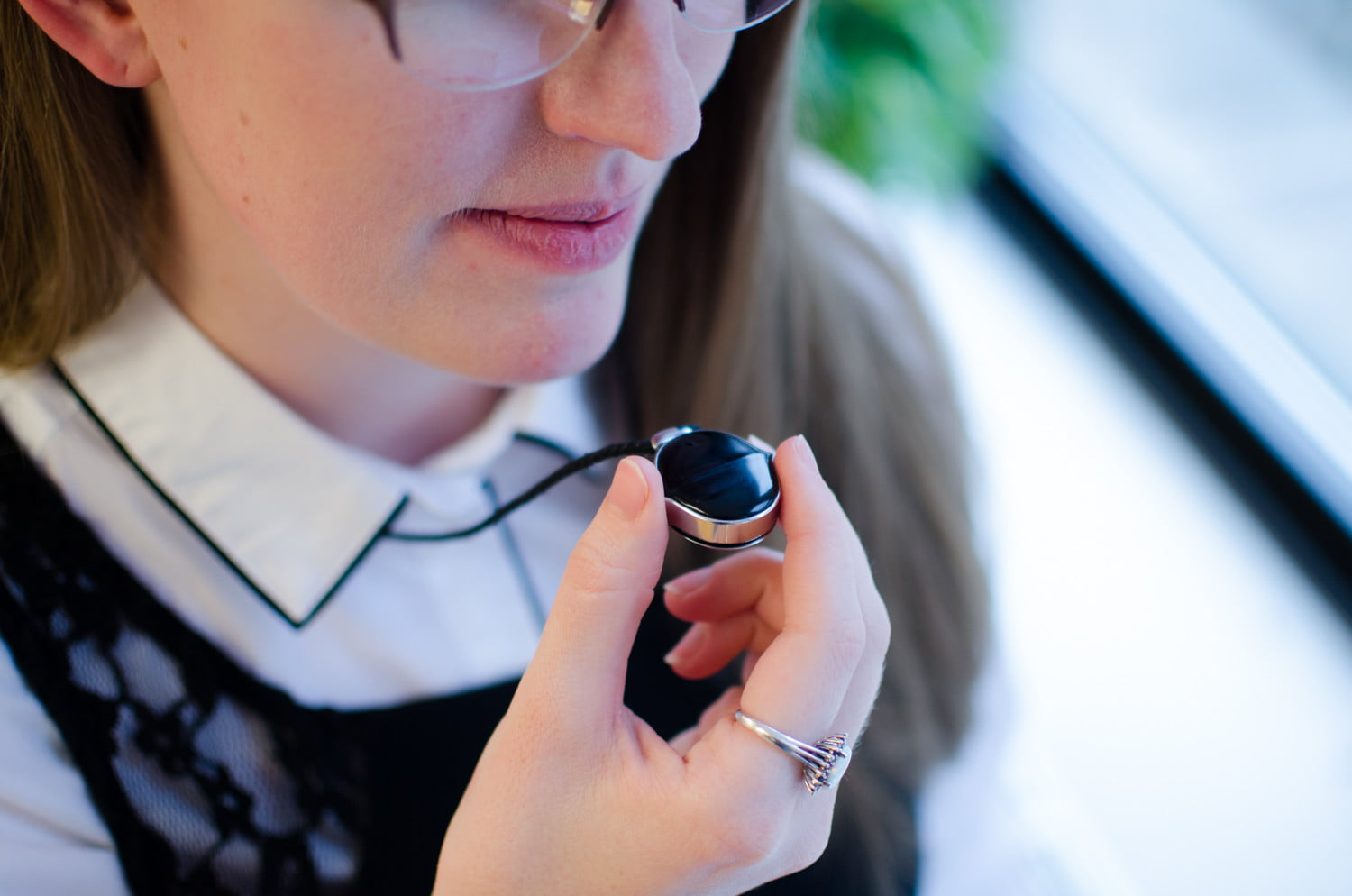 senstone wearable voice to text