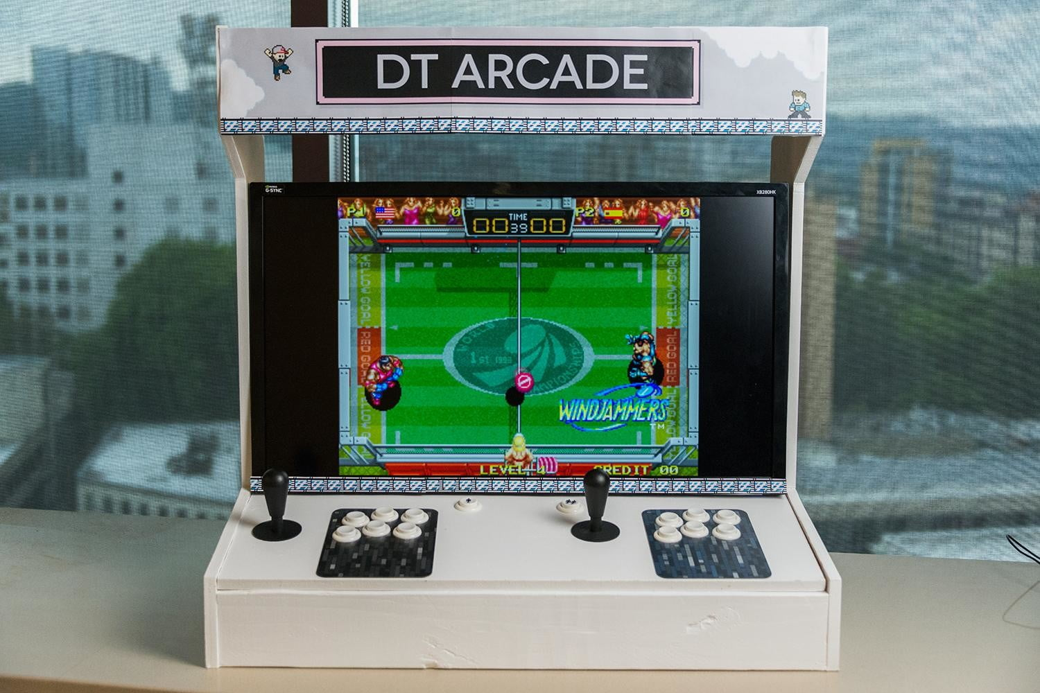 how to build arcade cabinet dt 6