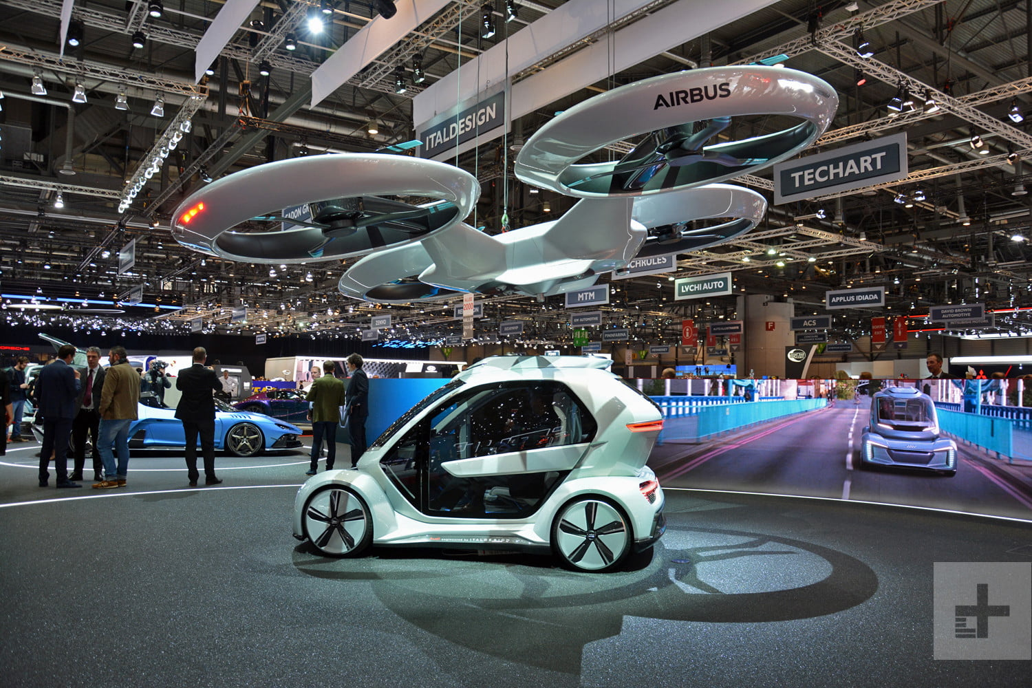 Audi Airbus And Italdesign Want You To Commute In A Flying Car Digital Trends