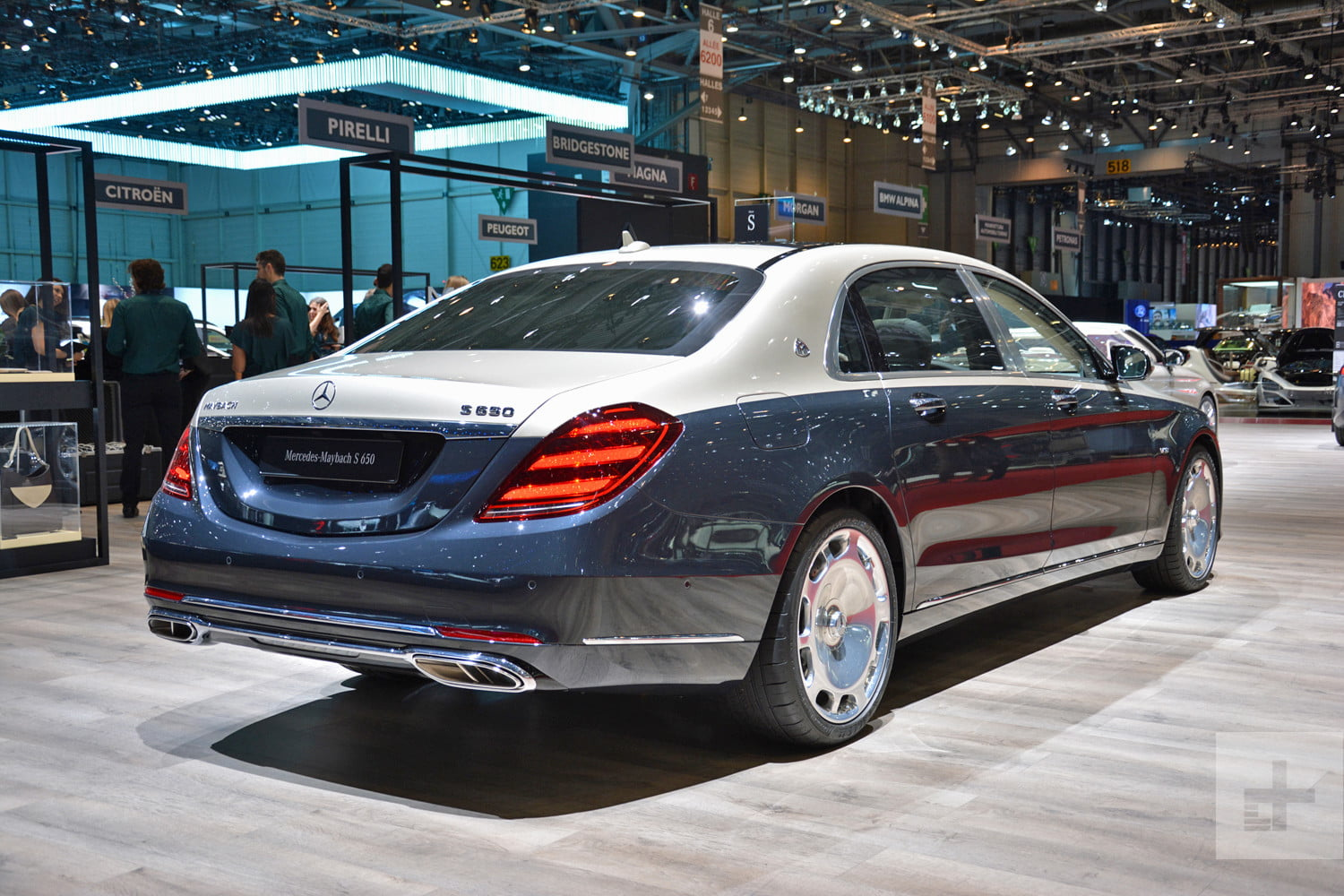 Mercedes-Maybach S-Class live
