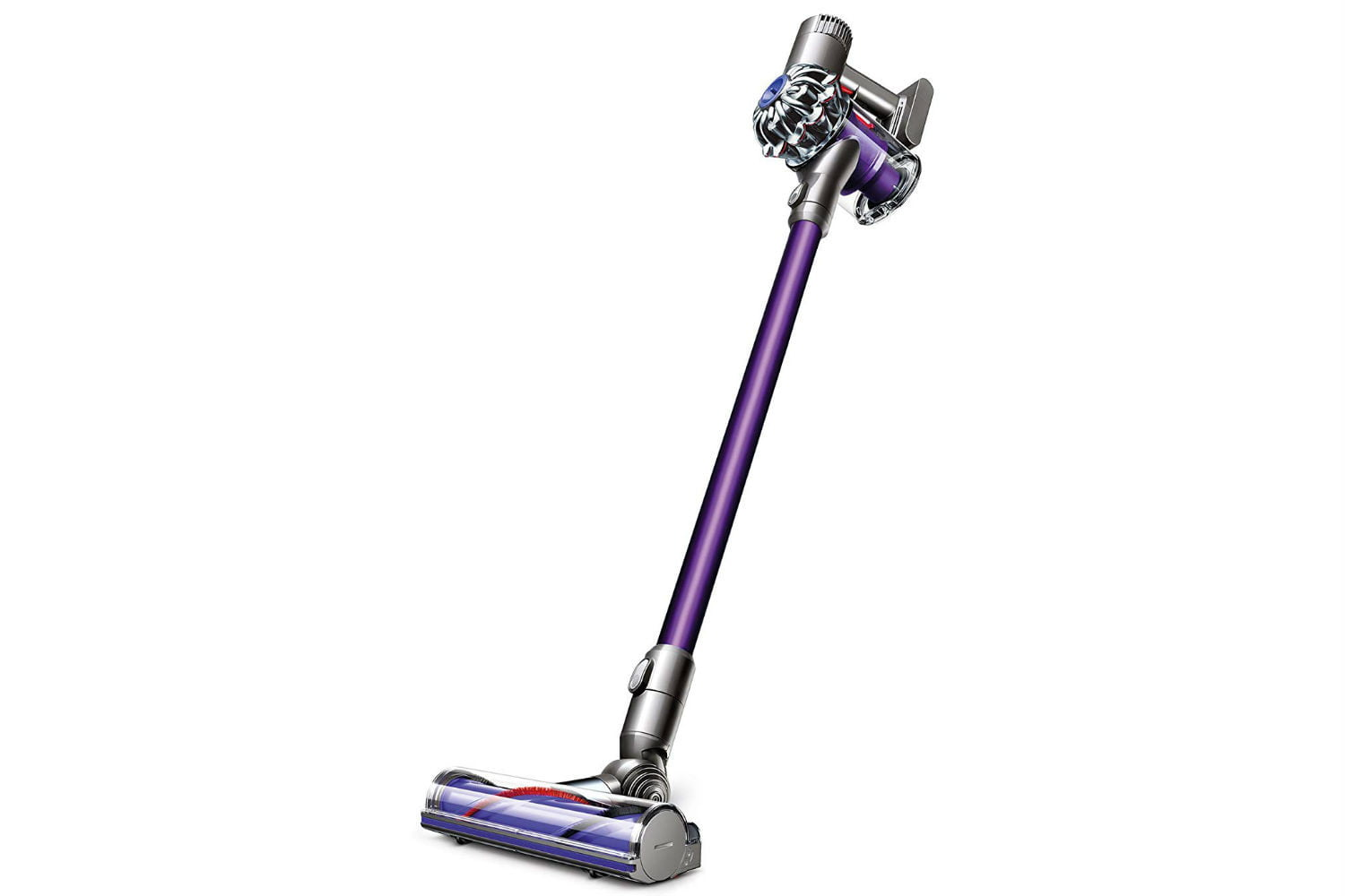 amazon dyson vacuum and air purifier easter week sales v6 animal cordless stick cleaner purple 1500x1000