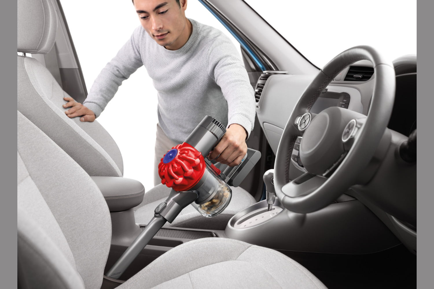 walmart knocks down prices on dyson handheld vacuums in post prime day sale v6 trigger vacuum car  boat 5