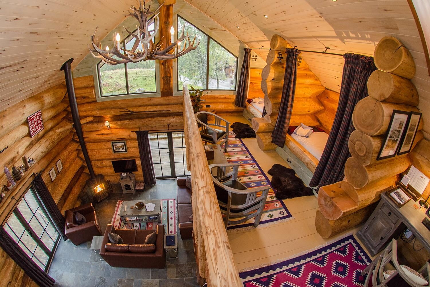 retreat from society and relax in these idyllic cabins around the world eagle brae resort 4