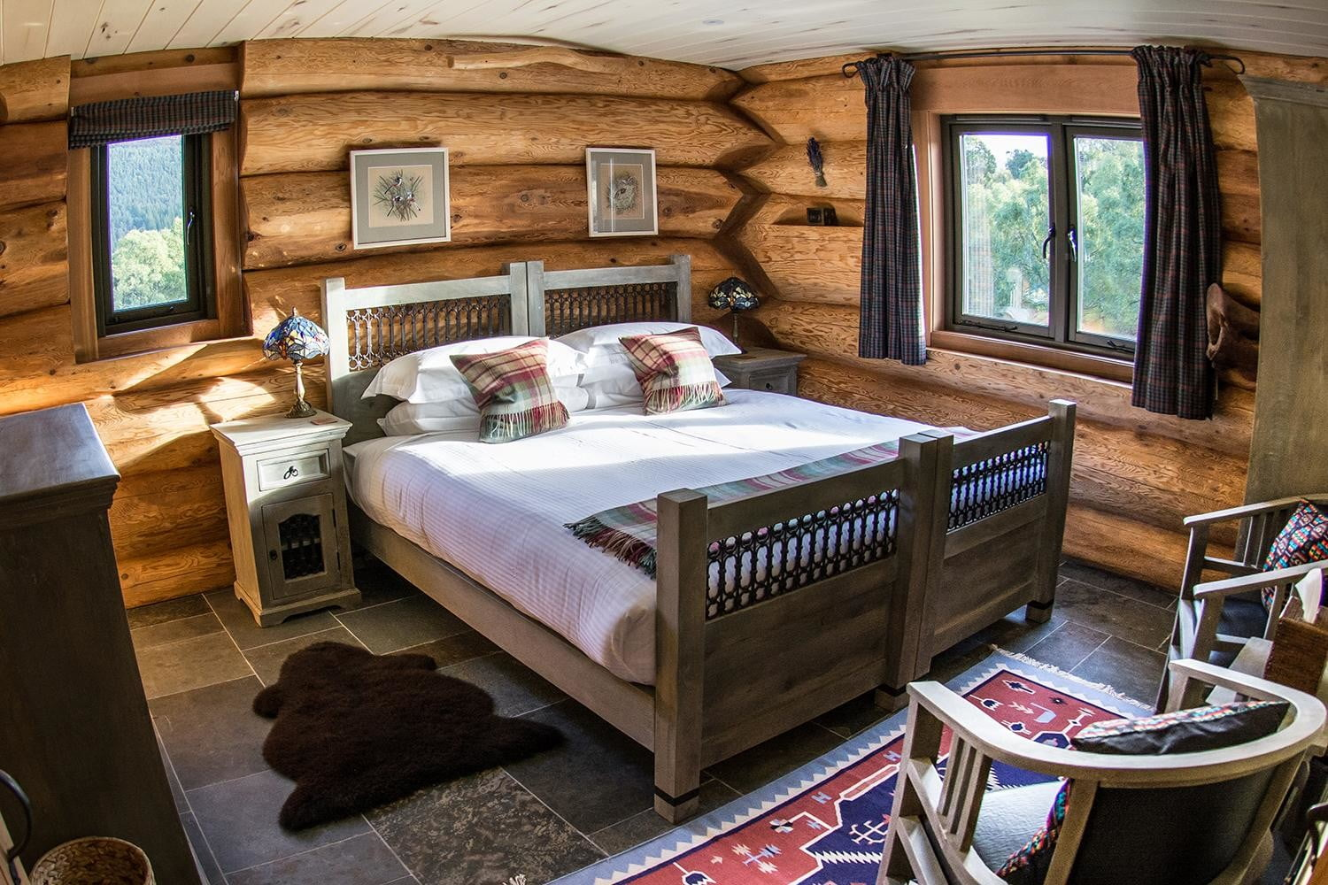 retreat from society and relax in these idyllic cabins around the world eagle brae resort 7