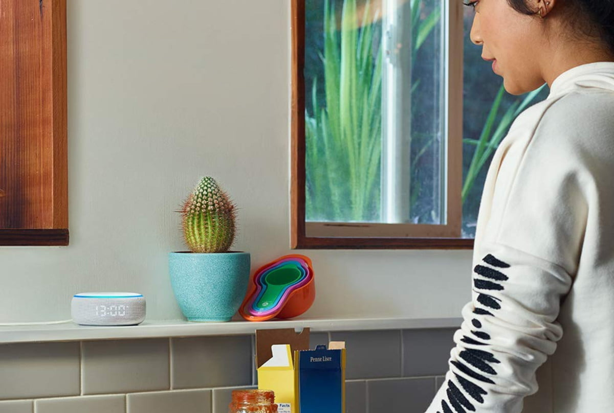 amazon cuts the prices on new echo dot with clock and show 5 03  1
