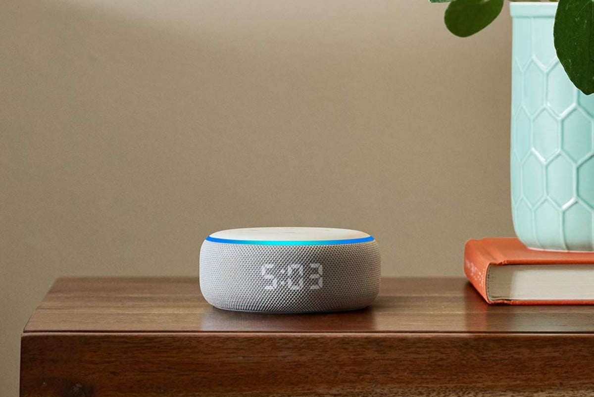 amazon cuts the prices on new echo dot with clock and show 5 4  1