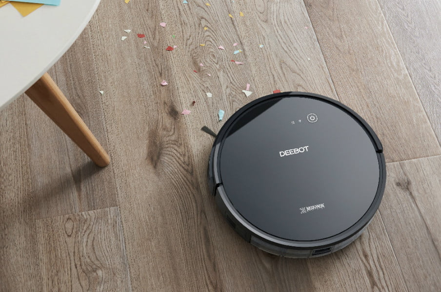 amazon ecovacs deebot deal of the day 601 robotic vacuum cleaner with app control 07