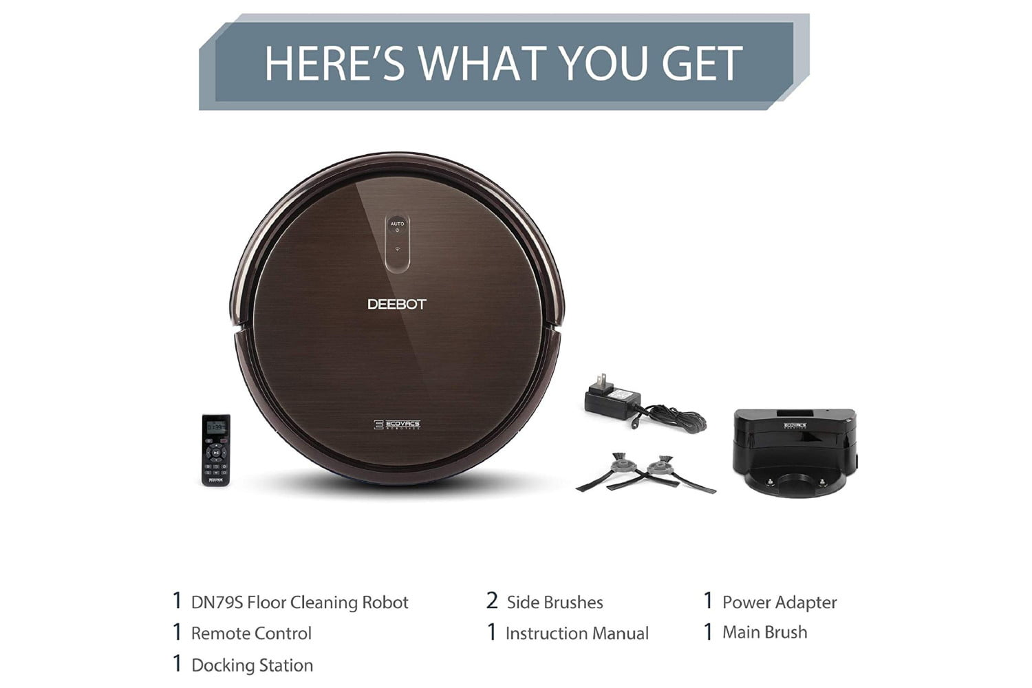 amazon 24 hour deal best price ever on ecovacs deebot n79s robot vac vacuum cleaner 6  1