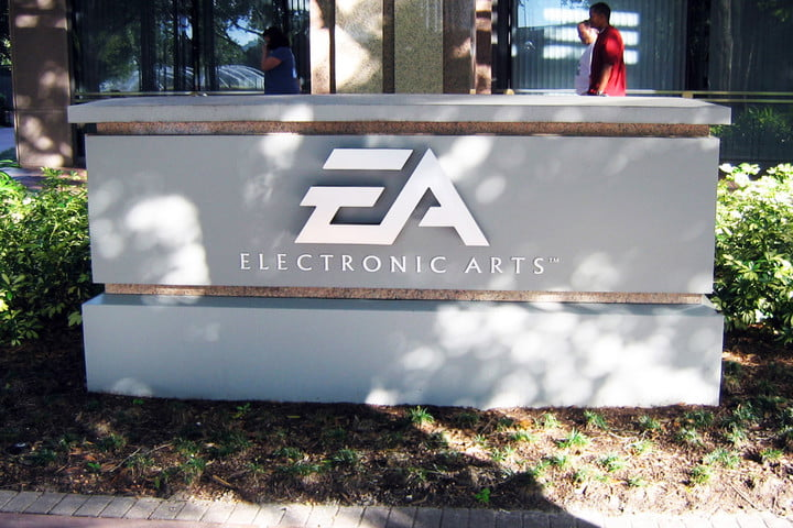 ea motive action game three years away electronic arts sign logo building hq headquarters