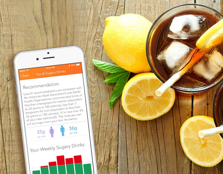 embodydna lose it sugary drinks recommendations
