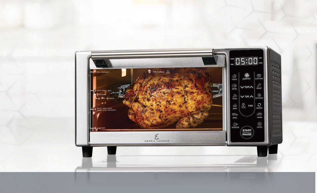 walmart drops prices on air fryers from emeril farberware and power lagasse airfryer 360 plus 3