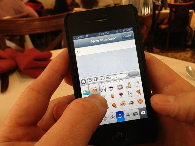 where were going we dont need words social apps are killing text emoji