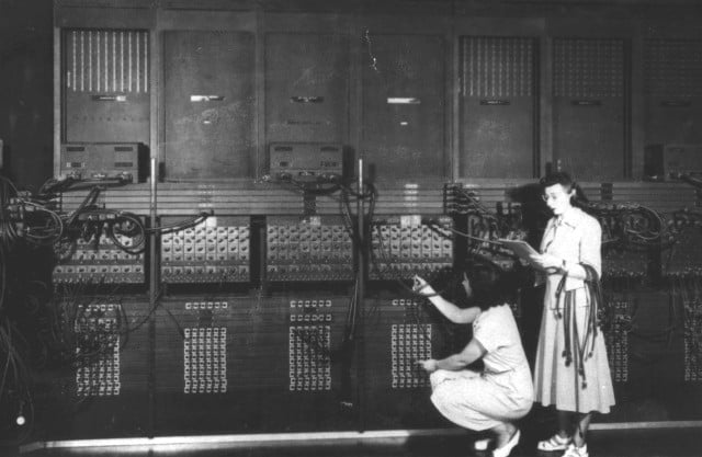 Some of the earliest women in computer science running the ENIAC at the University of Pennsylvania