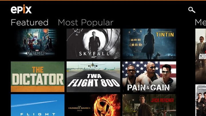 sling tv adds epix vod live channels new movies screenshot