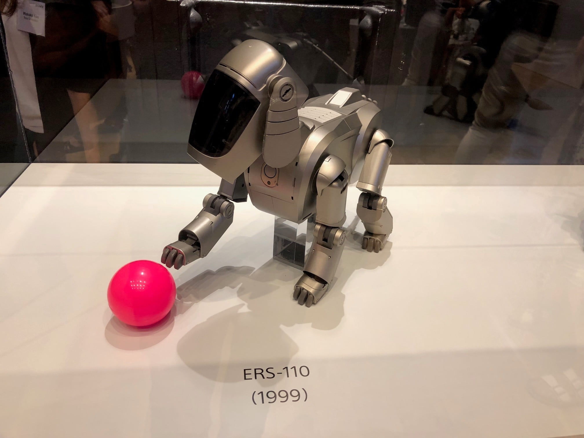 sony aibo first litter edition ers 110