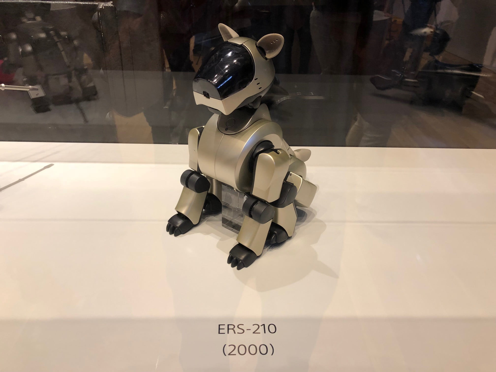 sony aibo first litter edition ers 210