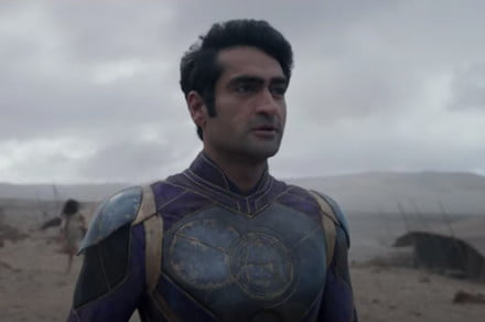 Marvel's Eternals go monster hunting in first official clip
