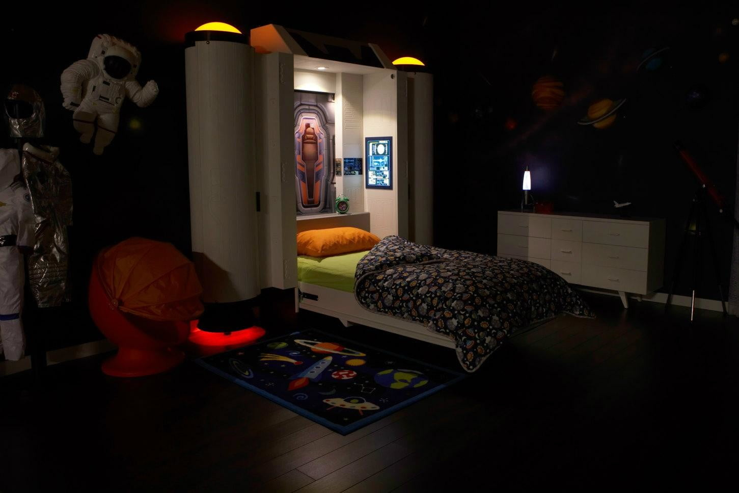 fable bedworks amazing kids beds cost more than a car etsy space bed images