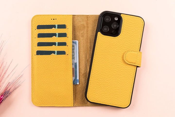 LupinnyLeather Wallet Case for iPhone 11.