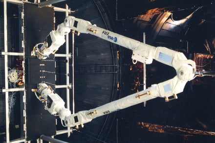An 'arm made for walking' is about to arrive at the space station