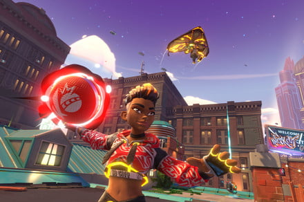 Knockout City is a kid-friendly 'shooter' that trades guns for dodgeballs
