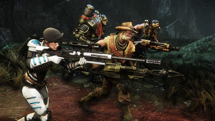multiplayer shooter evolve will be free to play on pc starting today  feb screenshot 1