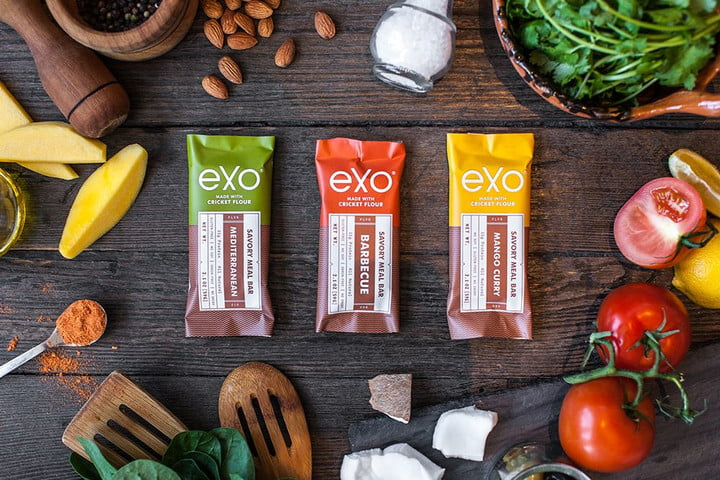 Exo insect protein bars cricket flour