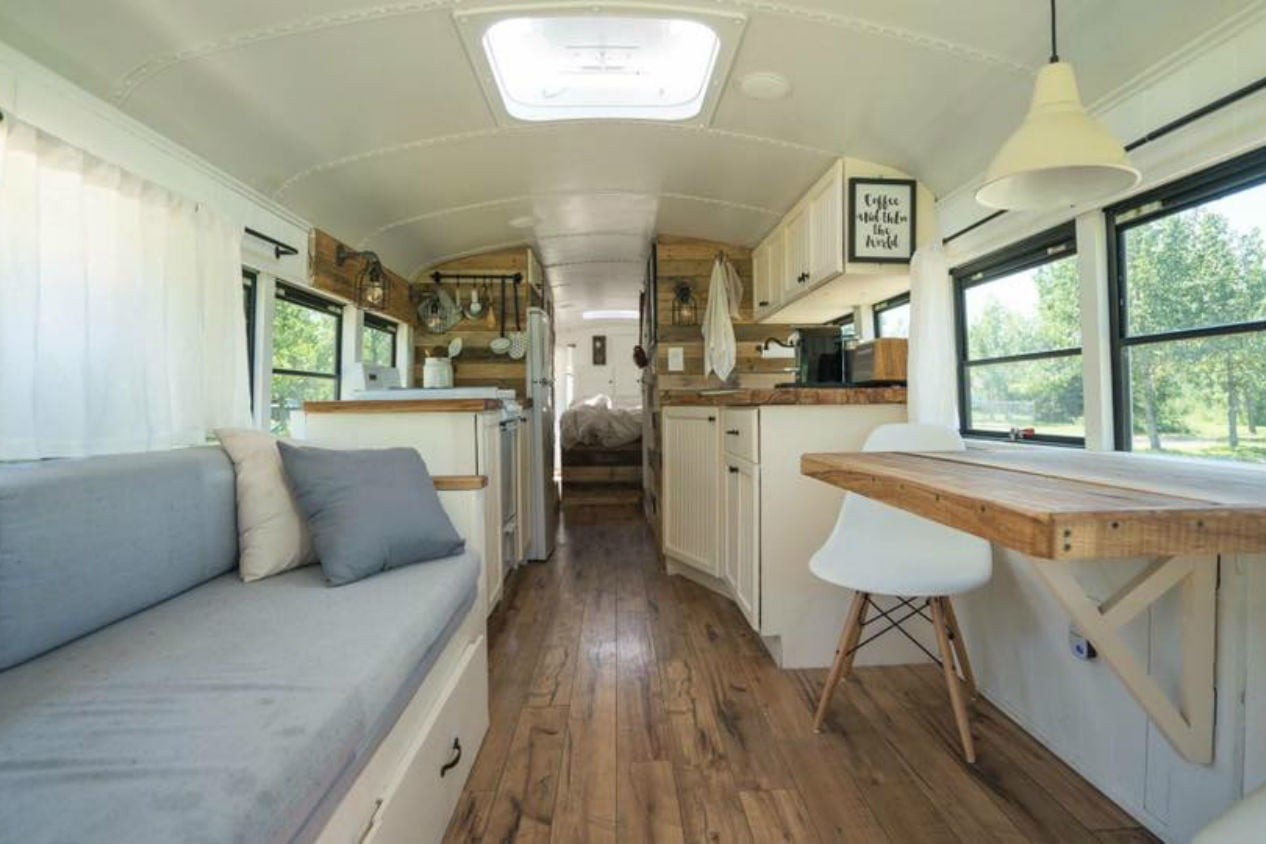 coolest bus to mobile home conversions expedtionhappinessinside