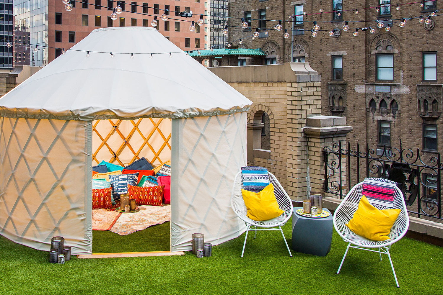 glamping on a manhattan rooftop extreme wow outdoor suite 0010