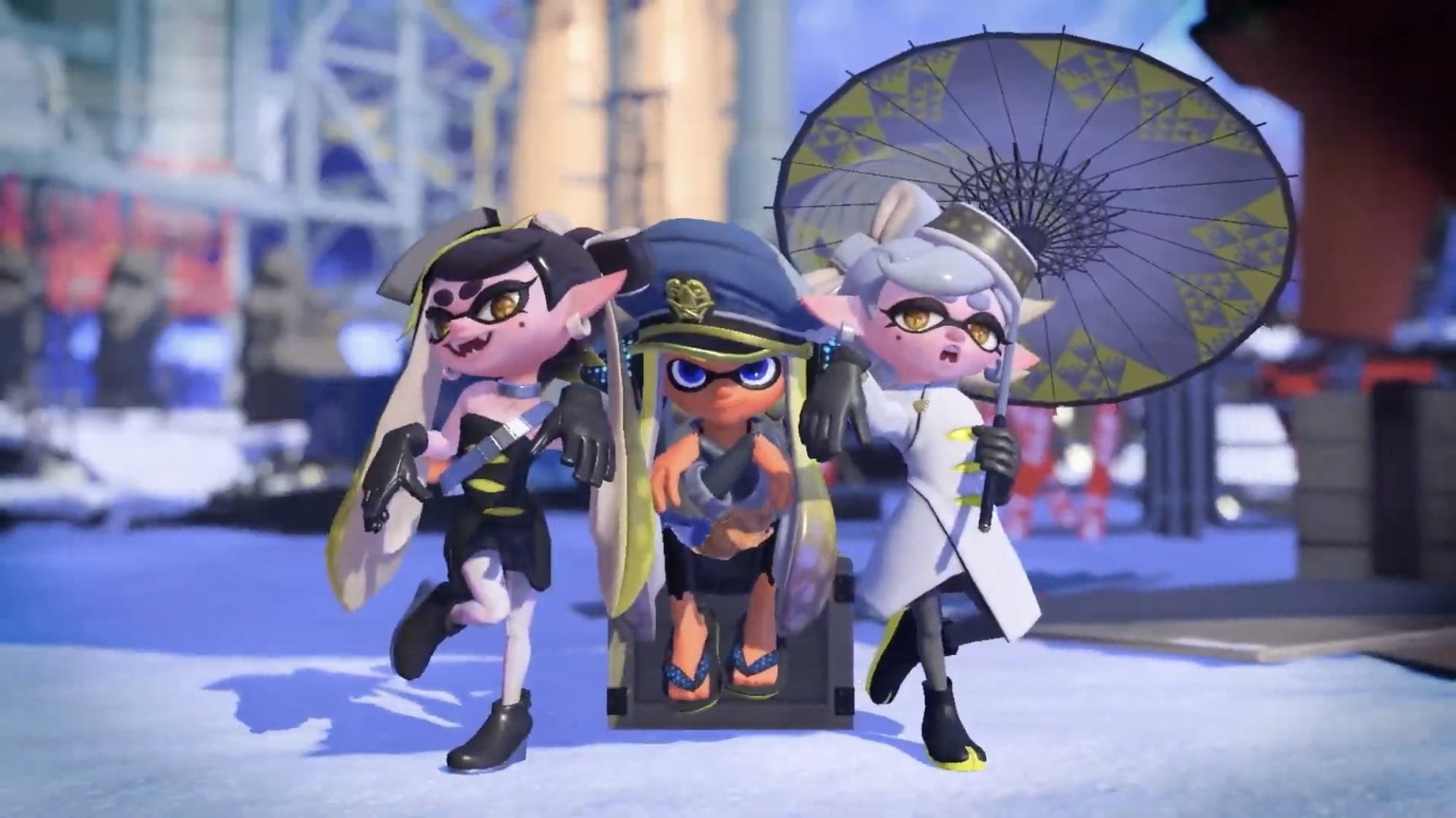 Picture - Splatoon 3's story pits squids against returning mammals