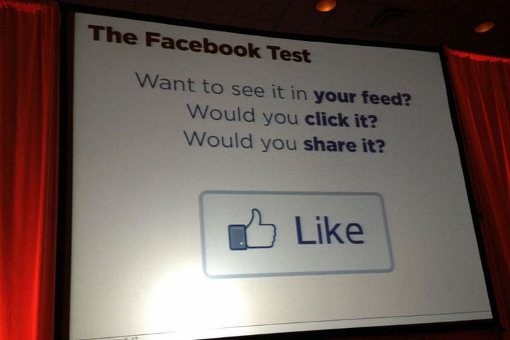 i took facebooks news feed survey and so should you facebook test