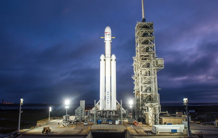spacex falcon heavy engine test