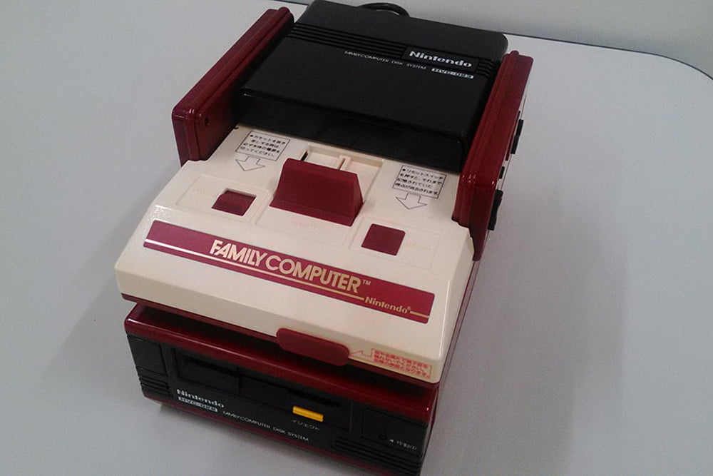 nintendo kyoto hq hardware collection famicom and disk system