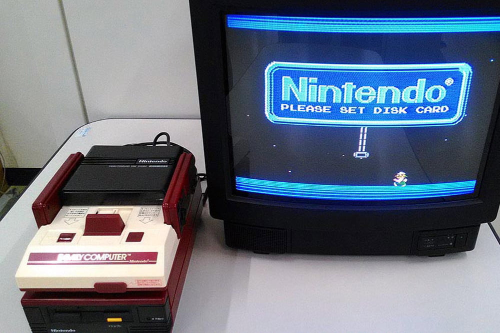 nintendo kyoto hq hardware collection famicom hooked up