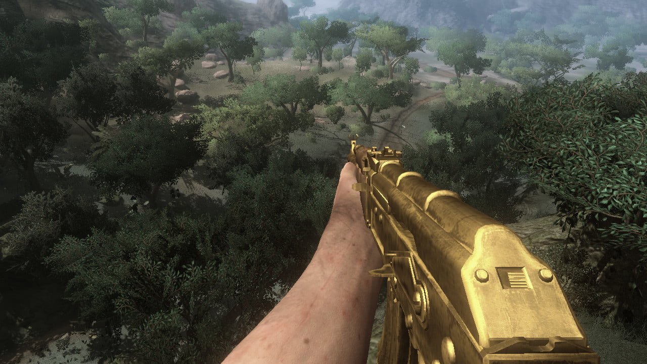 10 years in far cry 2 is still the most exciting of series farcry screen golden gun