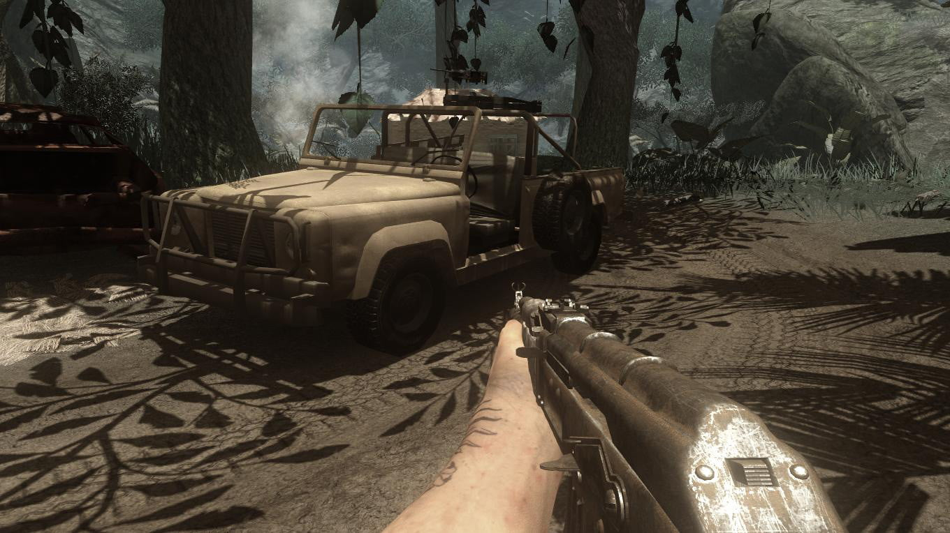 10 years in far cry 2 is still the most exciting of series farcry screen jeep