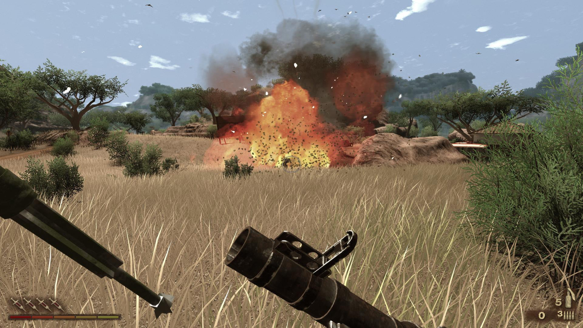 10 years in far cry 2 is still the most exciting of series farcry screen missile launcher