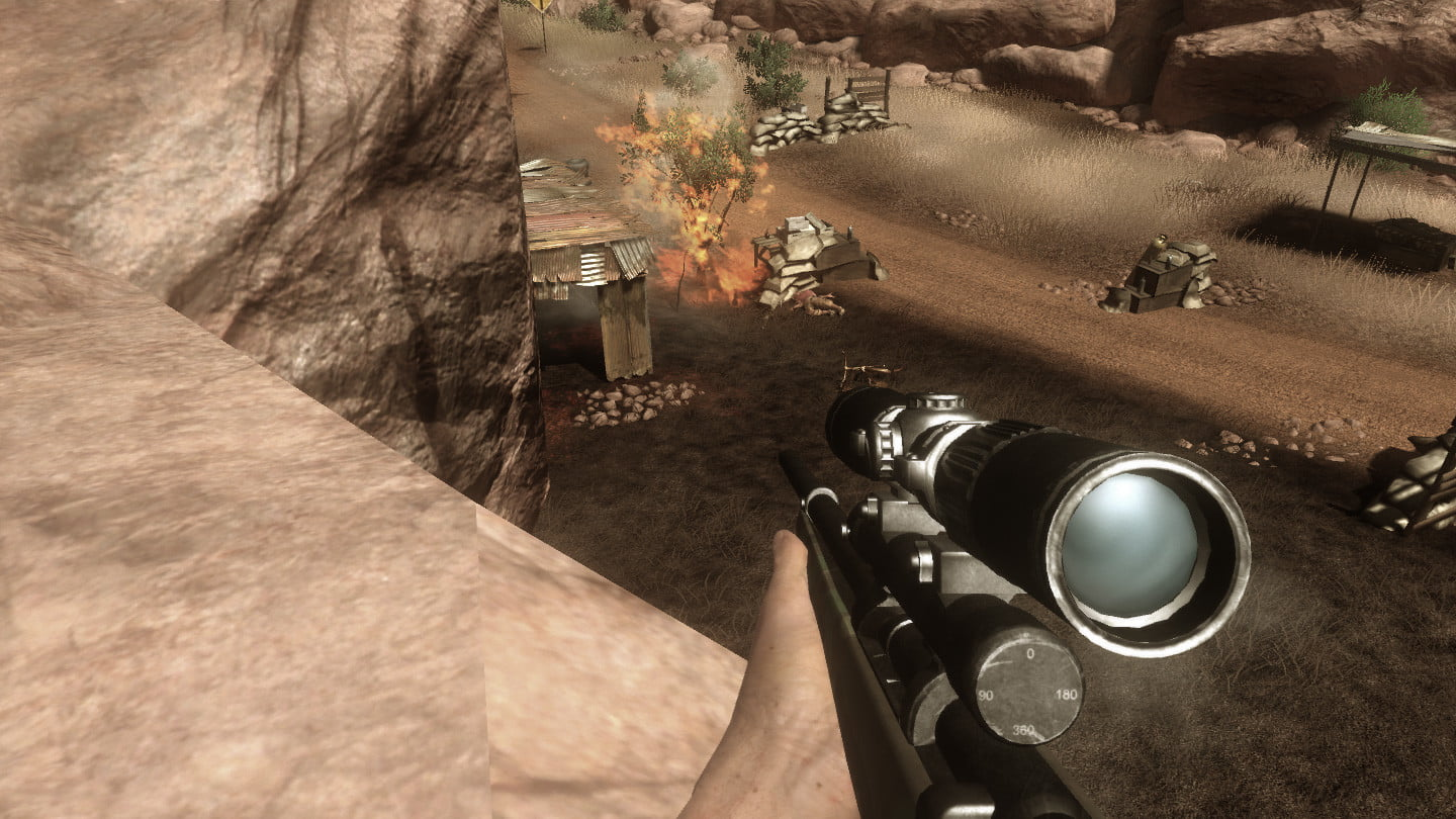 10 years in far cry 2 is still the most exciting of series farcry screen sniper